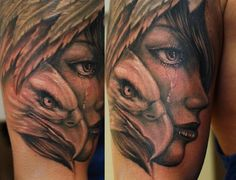 One session on this so far, black and grey realistic work fromIvan Borathammersmith tattoo!!