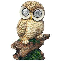 Solar Light Garden Owl