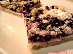 Kouzelná vařečka: Borůvkový koláč s tvarohovou náplni