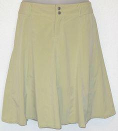 ATHLETA Whatever Skort sz 10T Celadon Green Stretch Poly Skirt 10 Tall #Athleta #SkirtsSkortsDresses