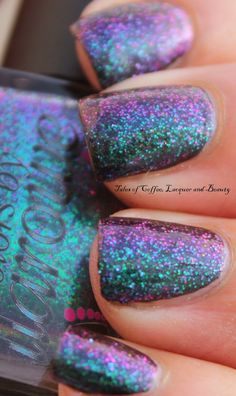 Colors by Llarowe Nitro I Tales of Coffee, Lacquer and Beauty
