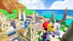 Super Mario Sunshine, Nintendo Switch System, Super Mario 3d, Stars Play, Power Star, Rhythm Games, Threes Game, 35th Anniversary, Best Games