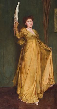 Practicing the Minuet (Mrs Hilda Sprong) - Tom Roberts