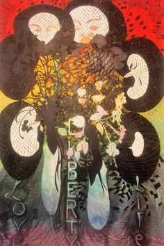 Chris Ofili, Post Black (Love, Life & at Institute of Contemporary Art, Miami Chris Ofili, Riverside Apartment, Art Miami, Institute Of Contemporary Art, Rural Retreats, Farmhouse Remodel, Plunge Pool, Holiday Apartments, Food Festival