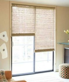 pictures of sliding glass door window treatments