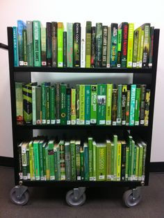 With St. Patrick's Day just around the corner, we've put together a few green titles from our library collection!