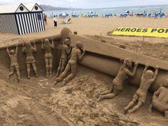 Incredible sand art in Gran Canariatenerifeblogs