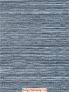 Sansai Sisal Grasscloth - Blue [GRS-6011] : Designer Wallcoverings,