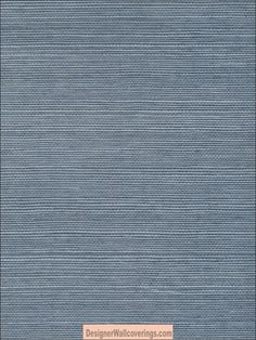 Sansai Sisal Grasscloth - Blue [GRS-6011] : Designer Walls and Fabrics, Specialty Wallpaper for Home or Office