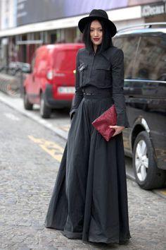 Street Style: Paris Fashion Week Fall 2014