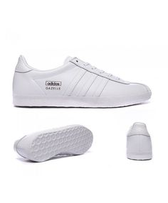 san francisco de057 ddae0 Adidas Originals Gazelle Og White Trainers Sale UK
