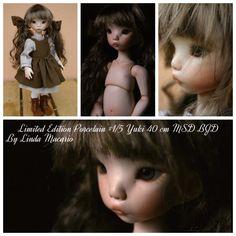 Limited Edition Porcelain #1/5 Yuki 38 cm MSD BJD by Linda Macario