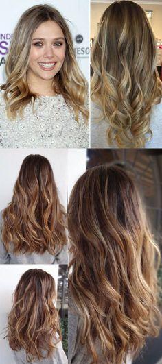 sombré hair                                                                                                                                                                                 Mais