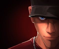 Team Fortress 2 favorite character in the game: Scout
