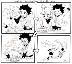 :D - Dangerous thing to do, Gon.