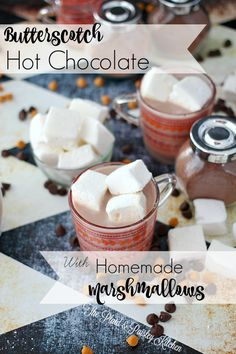 Butterscotch Hot Chocolate ~The Plaid & Paisley Kitchen ~ Homemade ...