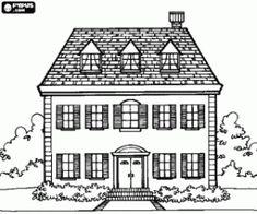 Ausmalbild Haus ausmalbilder Pinterest Ausmalen
