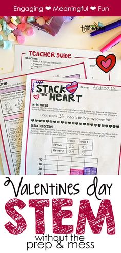 Ever wonder how you could get your son or daughter to be more interested in math? Math is hard work, but with some fun maths games, you can capture their attention while they learn. So, how can you find some fun maths games? Valentines Day Activities, Valentines Day Party, Holiday Activities, Valentine Ideas, Valentine Nails, Steam Activities, Science Activities, Classroom Activities, Classroom Ideas