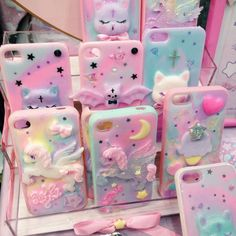Com ❤ the cutest subscription box kawaii items ❤ ❤ ❤ in 2019 чехл Kawaii Phone Case, Girly Phone Cases, Decoden Phone Case, Ipod Cases, Diy Phone Case, Phone Covers, Kawaii Subscription Box, Modelos Iphone, Cute Fairy