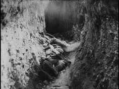 """They make desolation and call it peace,"" Tacitus.  The dead in the trenches during the Battle of Somme"