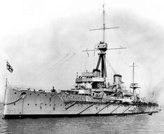 dreadnought | Launch of HMS Dreadnought at Portsmouth Dockyard February 9, 1906.