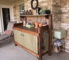 Parkdale Ave.: Gardening Must-Haves: The Potting Bench...