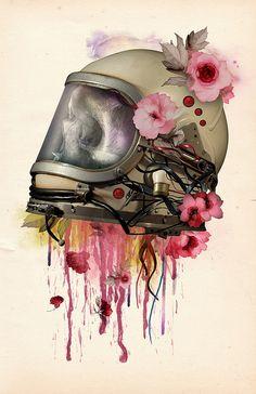 Astronaut skull, http://www.flickr.com/photos/astronautwear/7599792244/in/photostream#