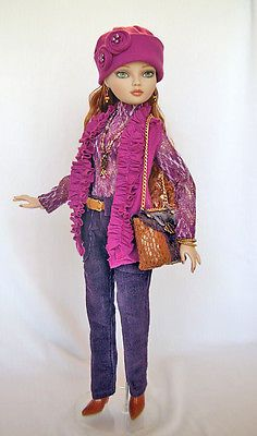 OOAK-Fashion-by-WS-fits-Ellowyne-Wilde-by-Tonner-Co. SOLD for $50.99 on 2/4/15