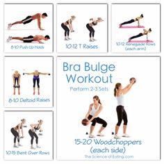 Workout Bra Bulge