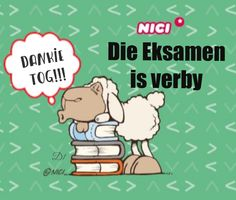 Die Eksamen is verby Afrikaanse Quotes, Goeie More, Acrylic Painting For Beginners, Wisdom Quotes, Picture Photo, Twins, Classroom, Inspirational, Messages