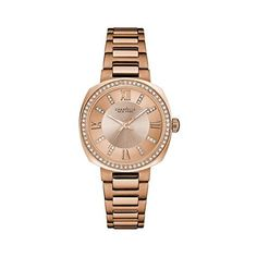 Bulova Womens Quartz Stainless Steel Casual Watch ColorRose GoldToned Model 44L224 >>> Visit the image link more details. Note:It is affiliate link to Amazon.