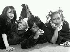 aaliyah, lil kim, missy elliot, da brat 1990's R&B/Rap Queens!
