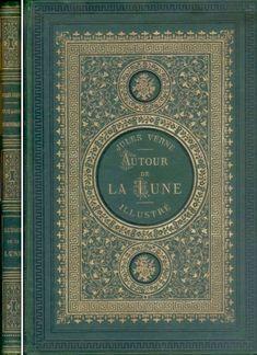 Original Jules Verne Book Covers,1800s