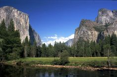 Yosemite National Park - I'd love to visit this place. It's on my bucket list.