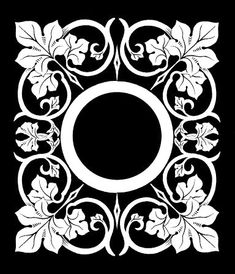 free stensil patterns   With the ability to resize the stencil image as needed, this image ...