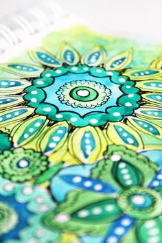 Just draw, paint, anything.  Check out her fantastic sketch book renderings.  Patterns, color and life!  Fantastic