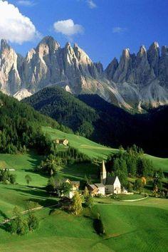 Santa Maddalena delle Dolomiti