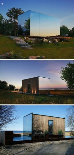 Container House - This modern mirrored house is prefabricated and can be installed in 8 hours. Functionality and comfort is the main goal as it is meant for short-term accommodation. - Who Else Wants Simple Step-By-Step Plans To Design And Build A Container Home From Scratch?