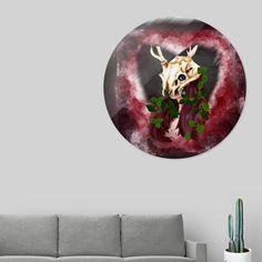 «love my deer Aluminium Sheet, Deer, Artworks, Things To Come, My Love, Prints, Design, Art Pieces