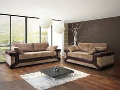 Massive And Relaxed three+2 Seater Settee Set Dino In Jumbo Twine Material Colors to be had are: Brown or Gray/Black Seats With…