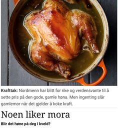 Ny post på bloggen. Noen liker mora. Blir det høne på deg i kveld? - http://www.leisegang.no/noen-liker-mora-blir-det-hone-pa-deg-i-kveld/