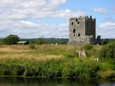 Threave Castle is situated on an island in the River Dee, 2.5 km west of Castle Douglas, in the Region of Dumfries and Galloway, Scotland. It was the home of 'Black' Douglas Earls of Douglas from the late 14th century until their fall in 1455.