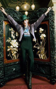 David Bowie Various Photo by Peter Mazel/Sunshine/REX/Shutterstock