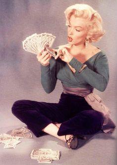 Marilyn Monroe, publicity still from 'Gentlemen Prefer Blondes' ♥