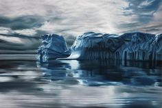 Breathtaking Pastel Drawings of Greenland Fulfill Late Mother's Dream by Zaria Forman | http://www.123inspiration.com/breathtaking-pastel-drawings-of-greenland-fulfill-late-mothers-dream-by-zaria-forman/