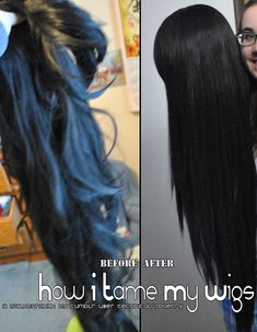 Got a wig that's a bit on the ratty side? Check out my overly-long-winded guide under the cut for help! (Image heavy!) [[MORE]] Before we begin, I have to state that there are tons of possible methods for fixing up a tangly, frizzy wig; this is just the method I happen to use! If something isn't working for you, or you don't have one of the necessary tools, check out some other tutorials or guides! Disclaimer: This guide isn't intended for curly wigs or non-heat-resistant wigs. If you have a…