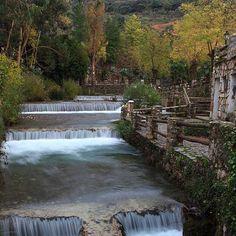 Nacimiento del Rio Genal en Igualeja. Serranía de Ronda.