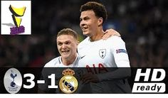 Tottenham vs Real Madrid 3-1 – Champions League 01-NOV-2017 – Goals & Extended Highlights