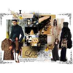 """""""Black and Gold"""" by mizzk850 on Polyvore"""