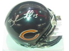 Brandon Marshall Chicago Bears Signed Autographed Mini Helmet Authentic Certified COA by all-star sports. $99.99. hand signed mini helmet . will come with a coa and 100% money back if you are not happy .